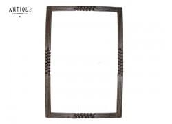 Τοίχου Καθρέπτες Από Μέταλλο Παλιό Ασήμι Πλάκα