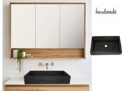 Minimal Design Παράλληλος Νιπτήρας Μπάνιου Κύδων