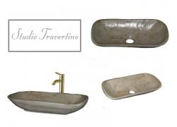 Μικροι Νιπτηρες Μπάνιου Travertino Προσφορά