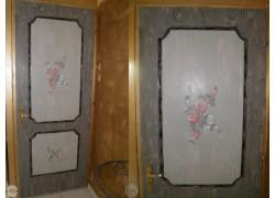 Λήδα Χειροποίητες Εσωτερικές Πόρτες Ζωγραφισμένες Κρακελέ