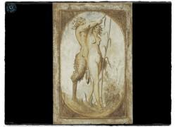 Πίνακας ζωγραφικής Κένταυρος Σε Πέτρα Τραβερτίνο