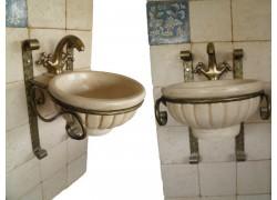 Αλέξανδρος Χειροποίητοι Κρεμαστοί Νιπτήρες Μπάνιου Ειδικές Τιμές