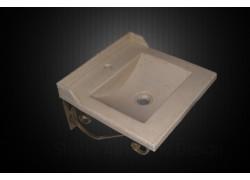 Ρουστίκ χειροποίητος νιπτήρας  μπάνιου wc αθηνά